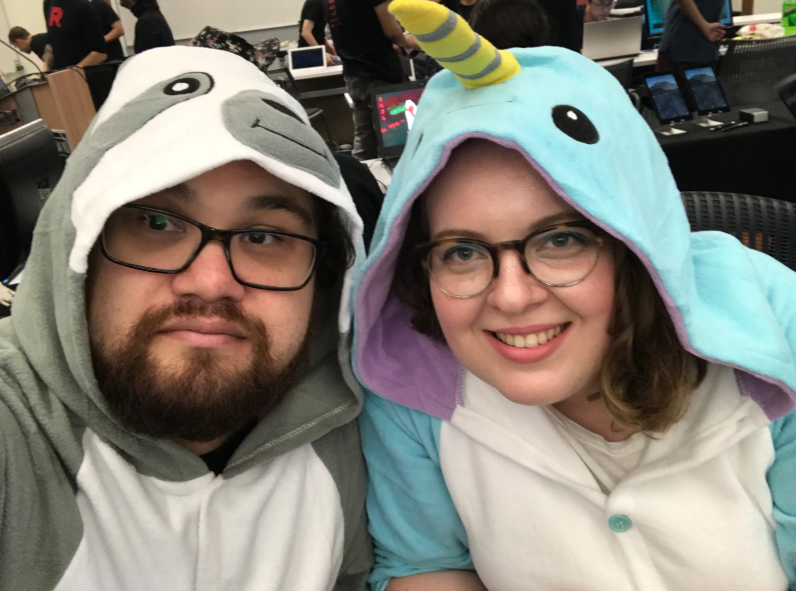 They may look innocent, but the Sloth and Narwhal are full of tricks!