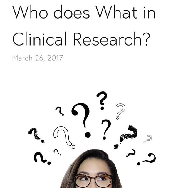 🚨 New blog post alert 🚨 Confused about who does what in Clinical Research? Not sure of what positions to apply for? 🤔Check out my new post!!! Link in the ☝️bio. Hope you find it helpful!! 😊🙌 #newblogpost #whodoesthat #clinicalresearch #careertransitions