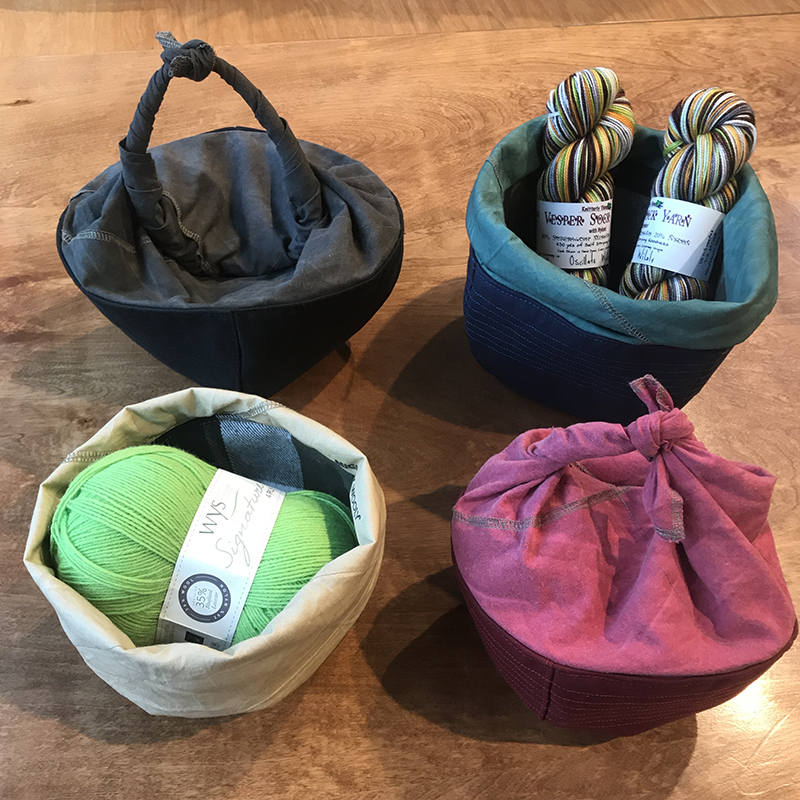 Mighty Wooly handmade project bag