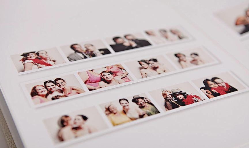 Keepsake album - An optional scrapbook can be added to enhance your photo booth experience. Your guests can leave comments, and the best part is you get to take the album with you the same night!