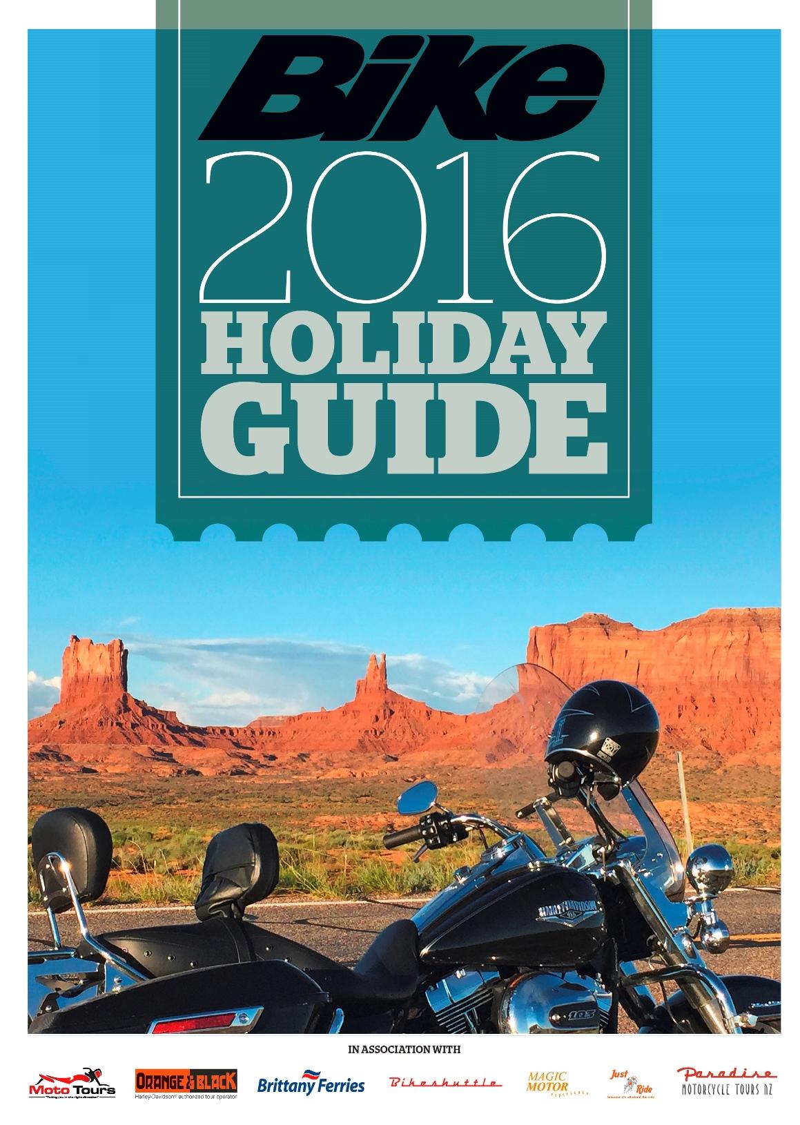Free biking holiday guide
