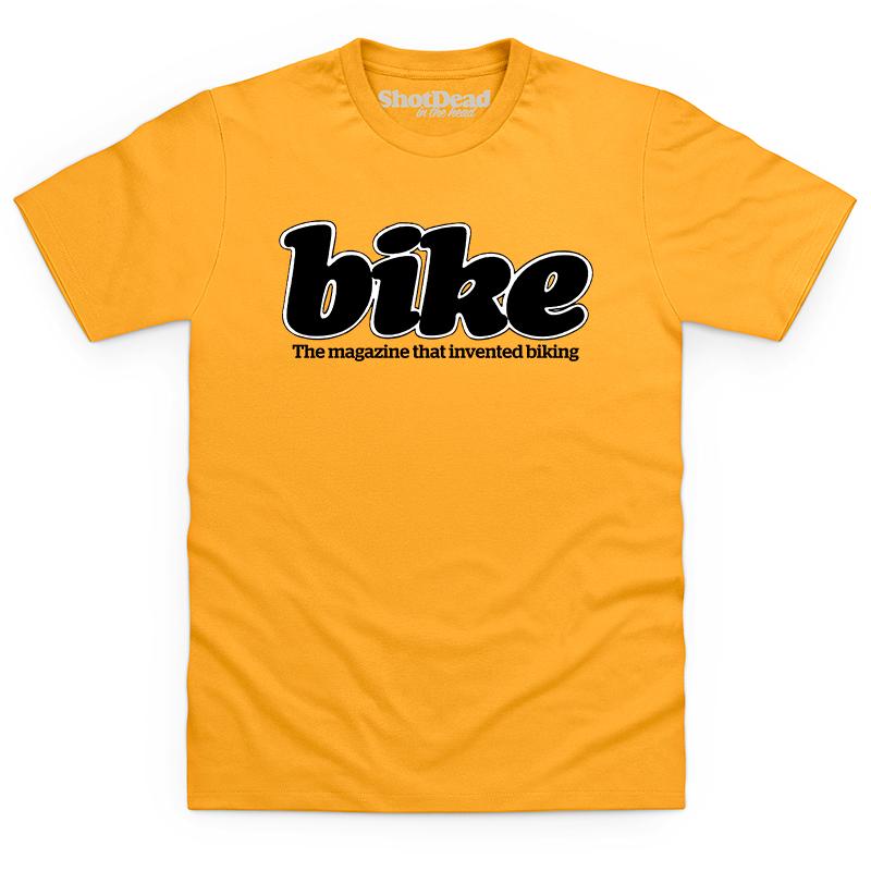 Bike magazine logo (80s) T-shirt