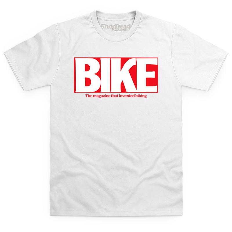 Bike magazine logo (90s) T-shirt