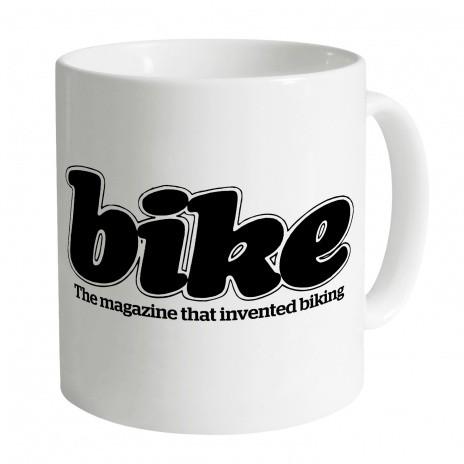 Bike magazine logo (80s) mug