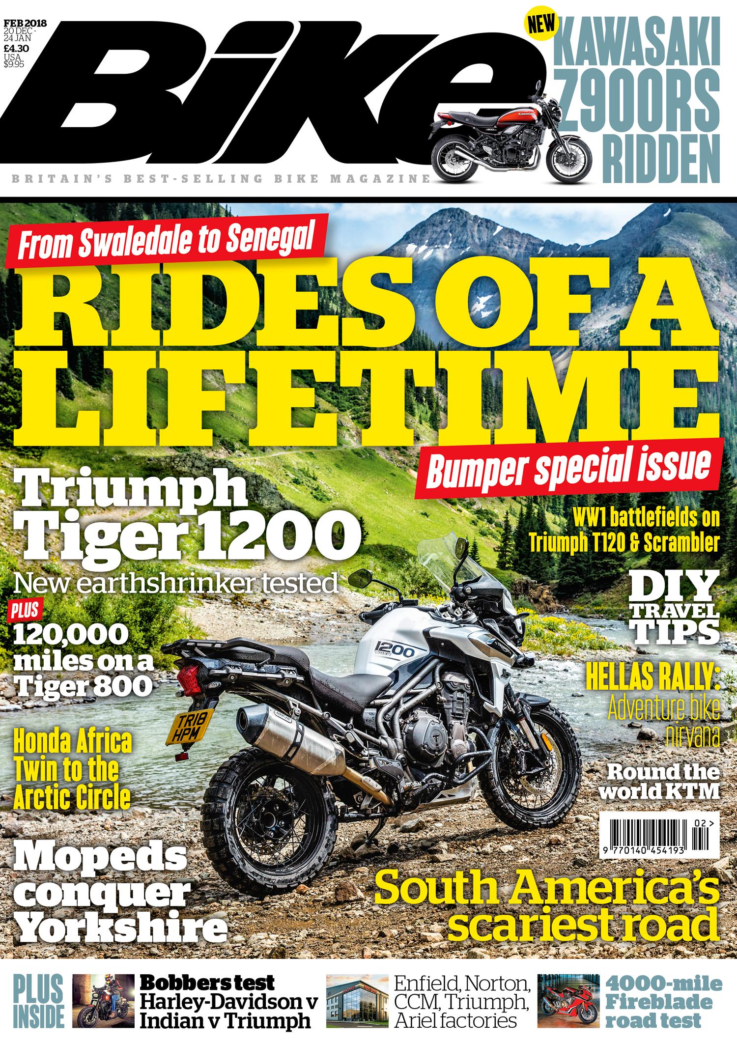 Bike February 2018 issue