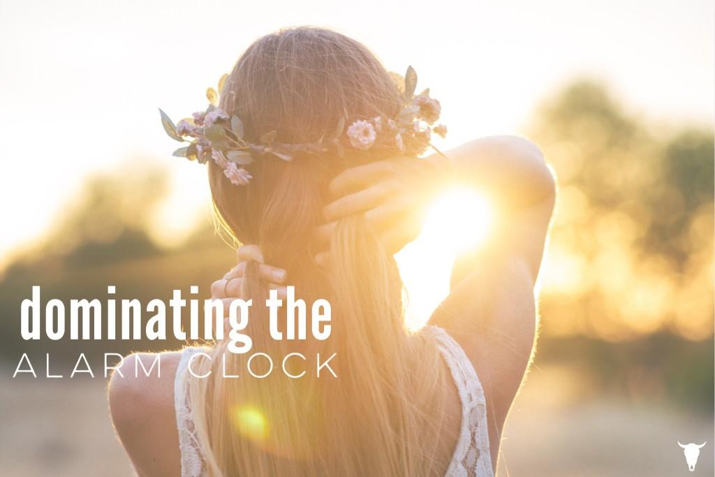 Dominating the Alarm Clock