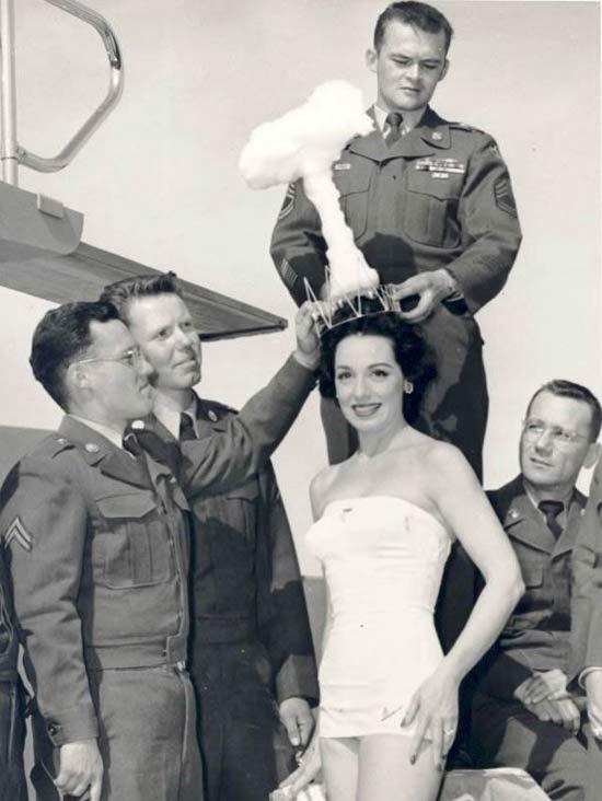 Miss Atomic Bomb, 1950