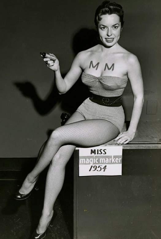 Miss Magic Marker, 1954
