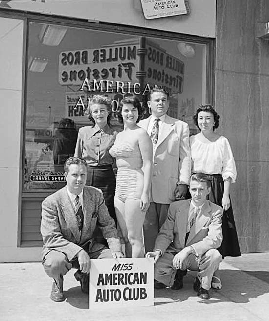 Miss American Auto Club, 1951