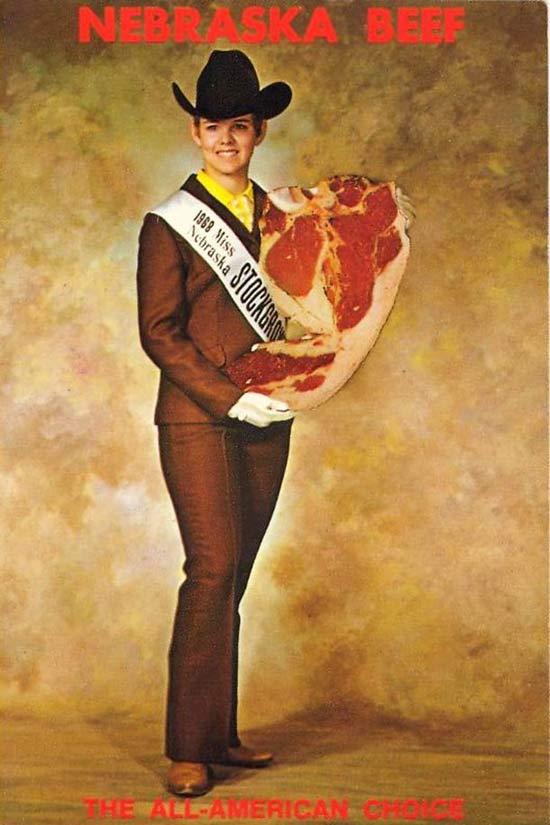 Miss Nebraska Stock Grower, 1968