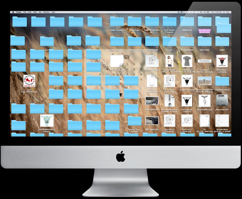 ClutteredDesktop - RAD MAVERIX