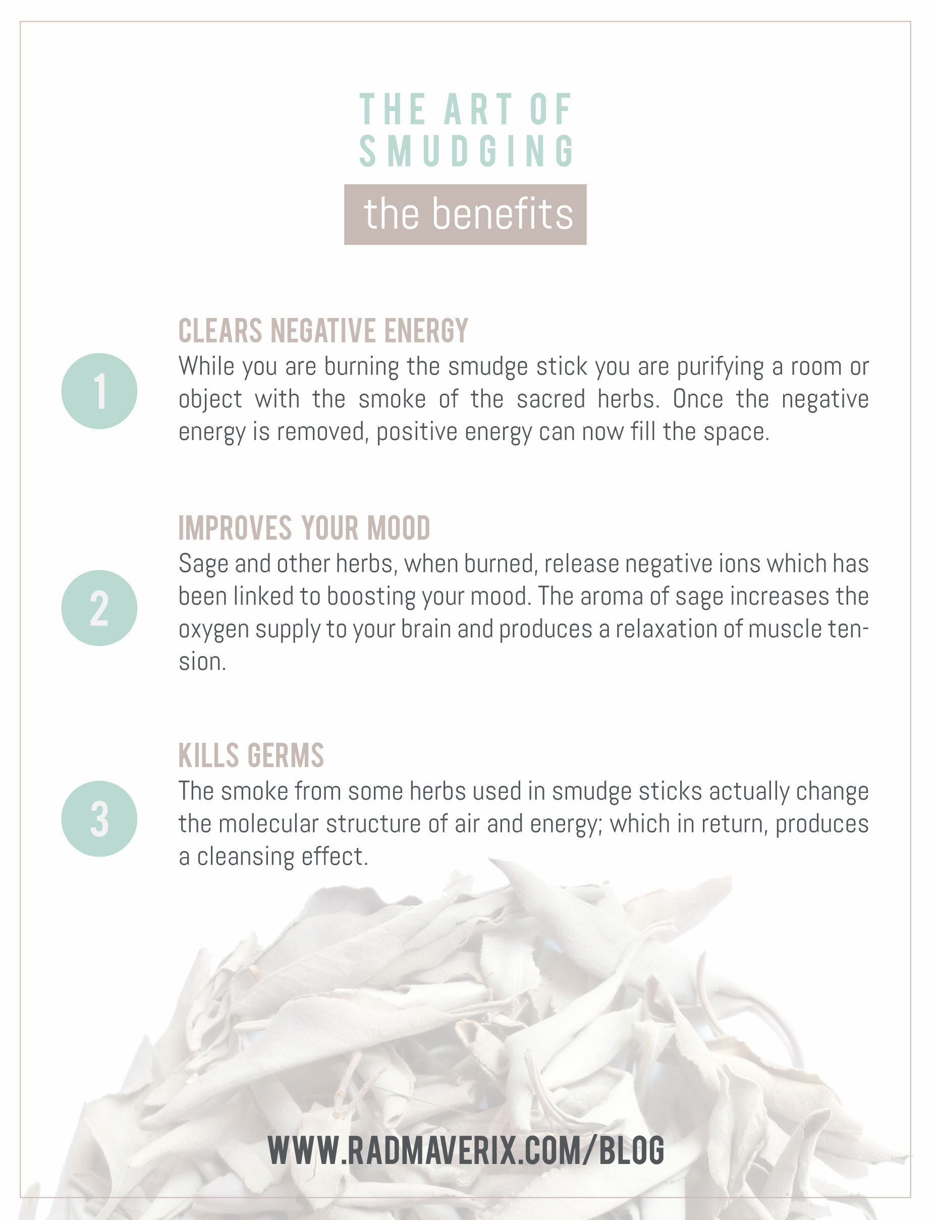 The Art of Smudging 101: The Benefits