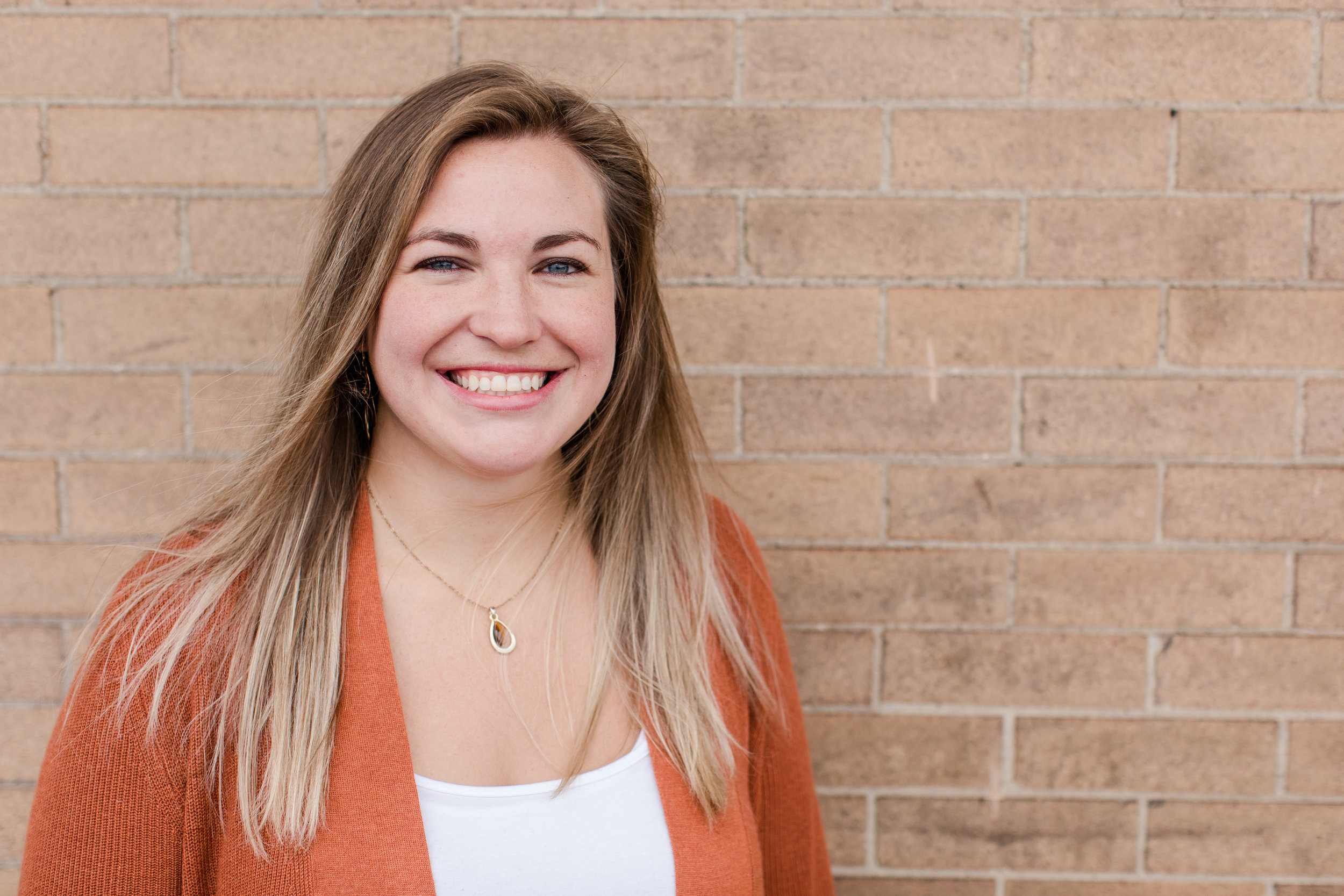 """Cassie Wahl    - Vineyard Kids Pastoral Assistant   Focus: Vineyard Kids  Fun Fact: In high school she was voted """"Most Likely to Use Cheesy Pick-Up Lines.""""  Favorite Verse:  For God hath not given us the spirit of fear; but of power, and of love, and of a sound mind. (2 Timothy 1:7 KJV)"""