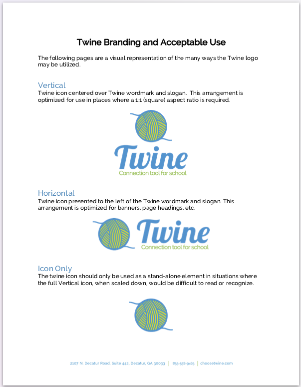 Download our sample style guide as an example for your private school brand