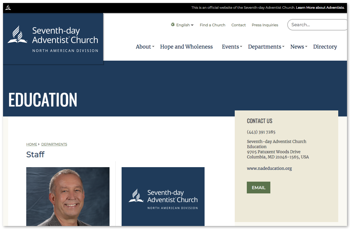 North American Division of Seventh Day Adventists