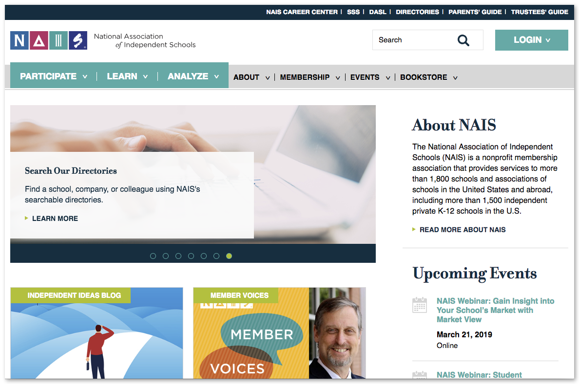 National Association of Independent Schools (NAIS)