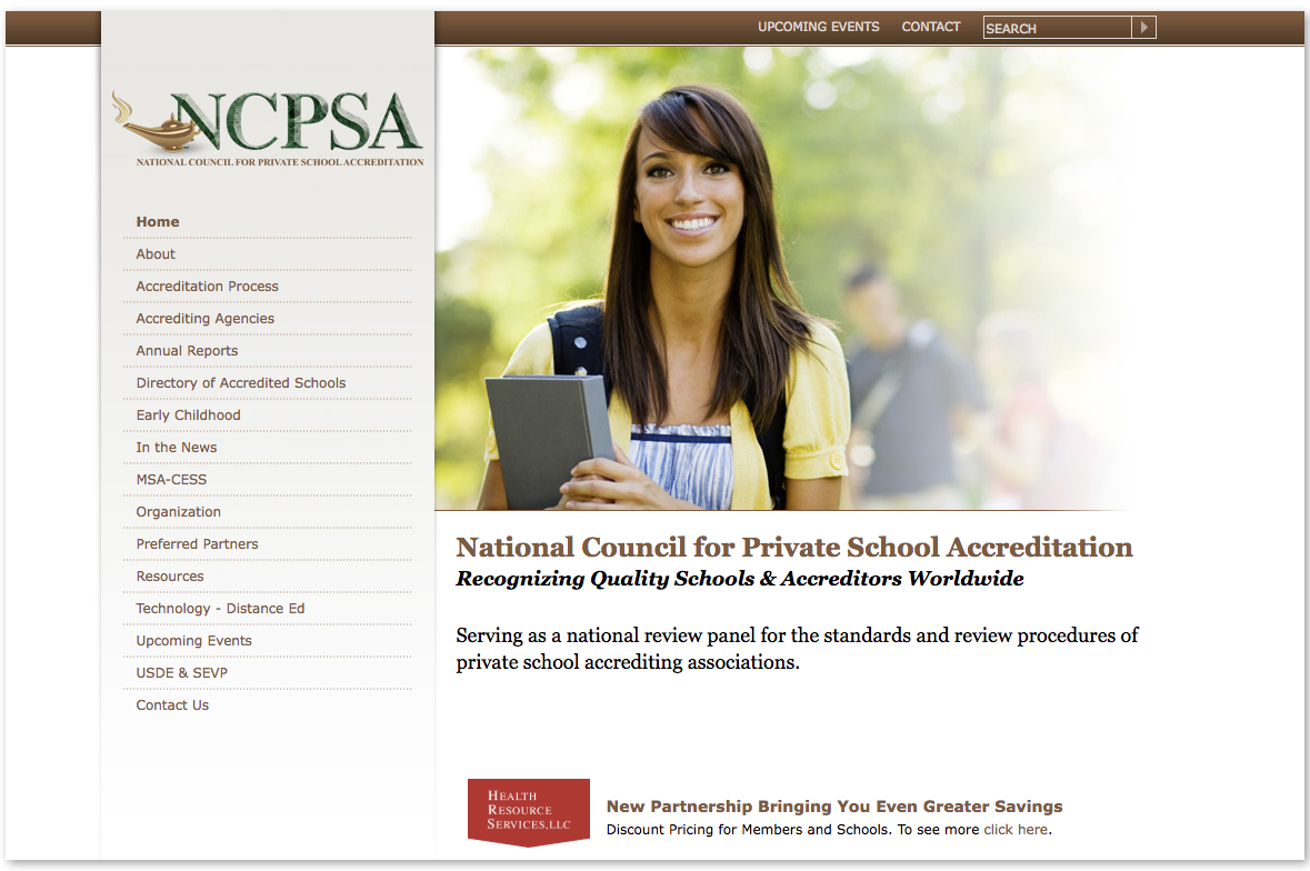 National Council for Private School Accreditation (NCPSA