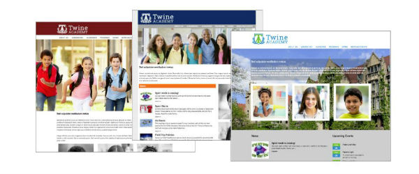 consistent branding matters and your website is one of the most important conveyors of your school's brand.