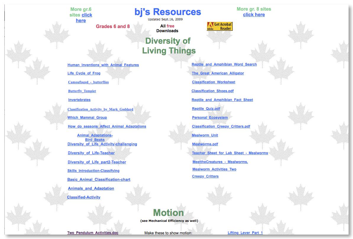 BJ's Resources