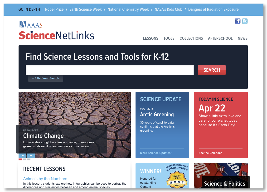 Science NetLinks