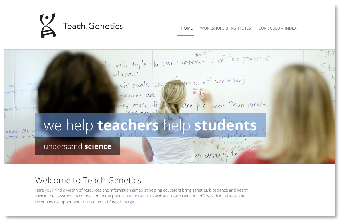 Teach.Genetics