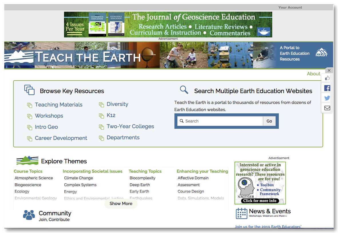 Teach The Earth