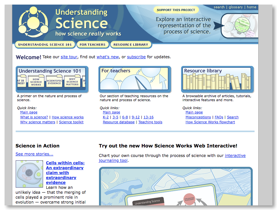 Best science websites for teachers — Twine