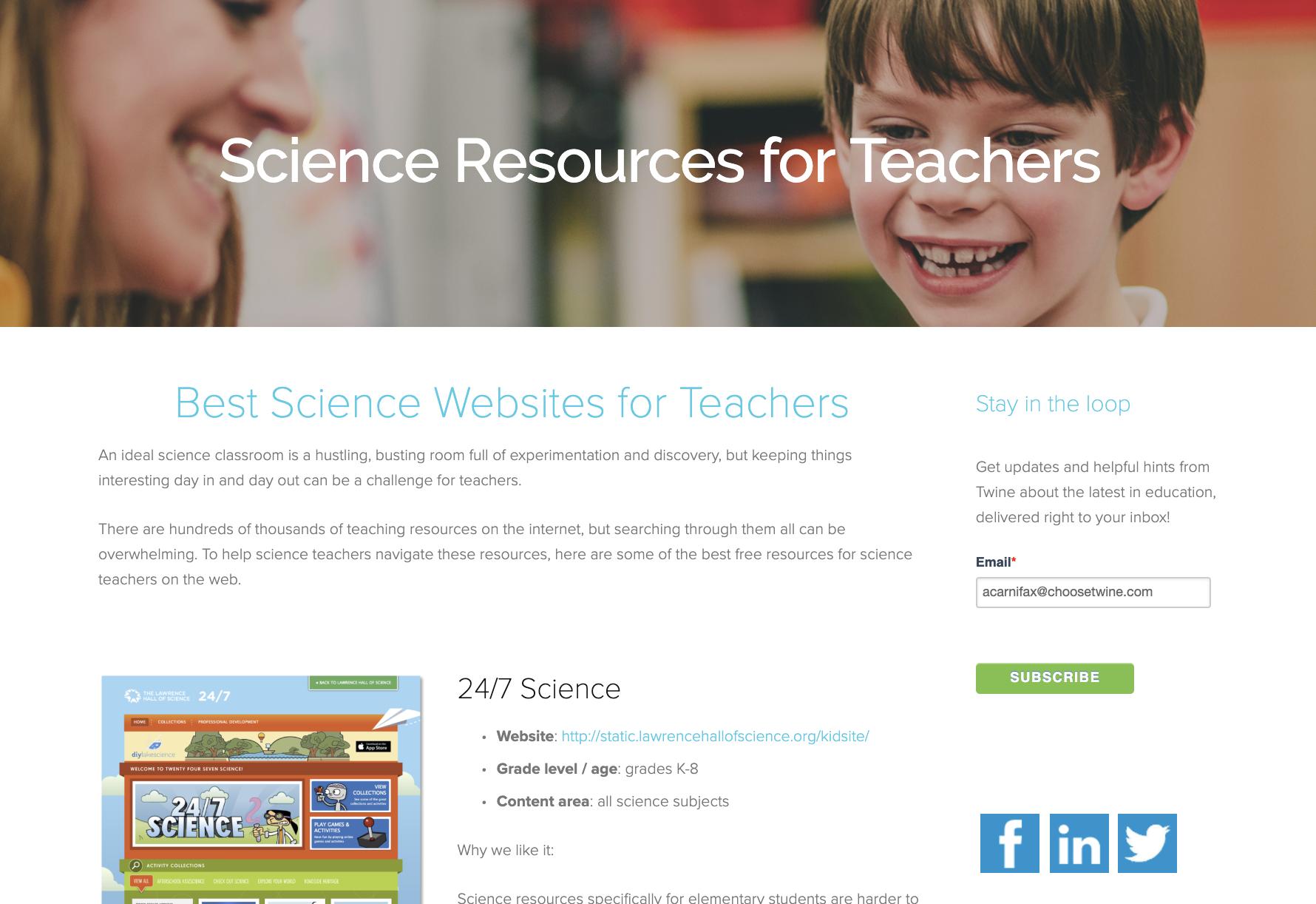 Best math resources for teachers