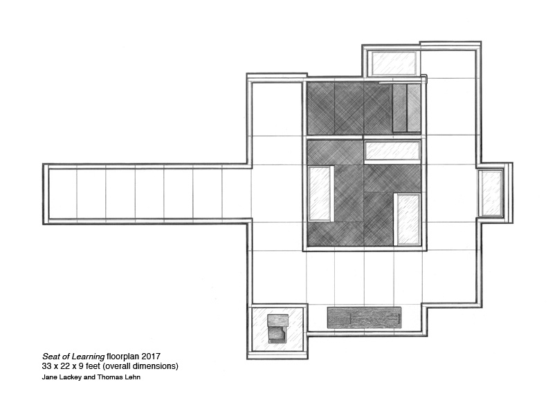 Seat of Learning,   floor plan   Jane Lackey and Thomas Lehn
