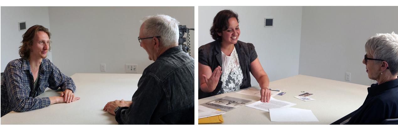 Interviews in progress, Colorado Springs, CO, 2019