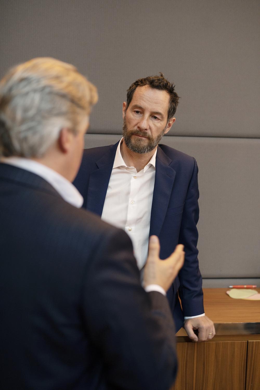 Reto Ringger, Globalance Bank und Sebastian Copeland