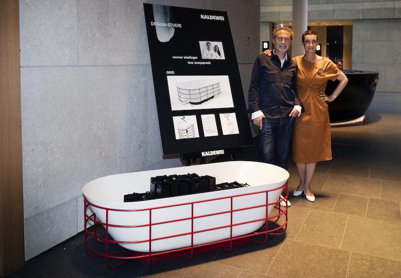 Werner Aisslinger, Studio Aisslinger und Petra-Anna Herhoffer, INLUX (The Grid by Kaldewei und Studio Aisslinger)
