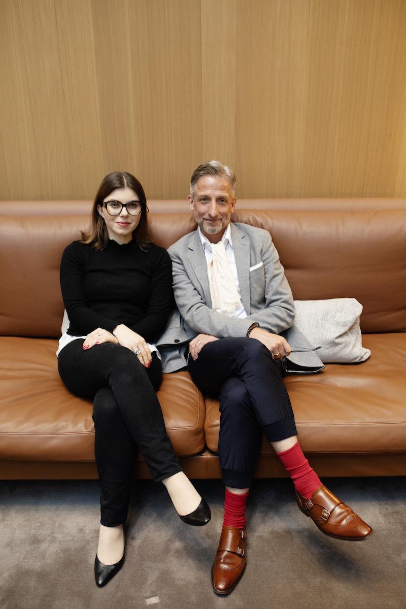 Julia Riedmeier, INLUX und Dr. Jörg Meurer, KEYLENS