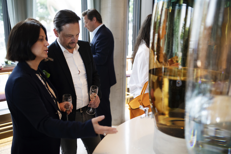Martina Tauber und Michael Daiminger
