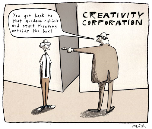 Creativity can be nurtured, it's not only nature