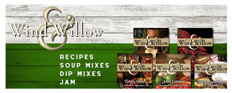 recipes-soup mix-dip mixes- ingredients-wind and willow