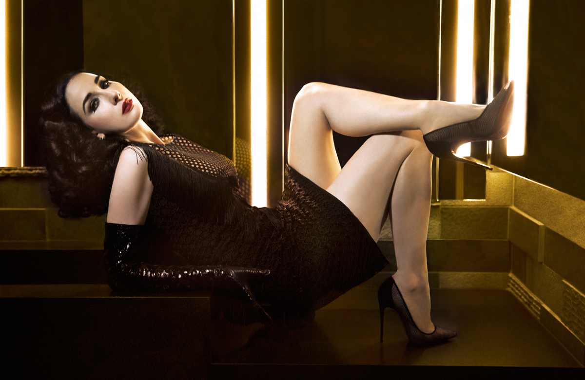 Dita Von Teese | Heels, Stockings heels, High heels