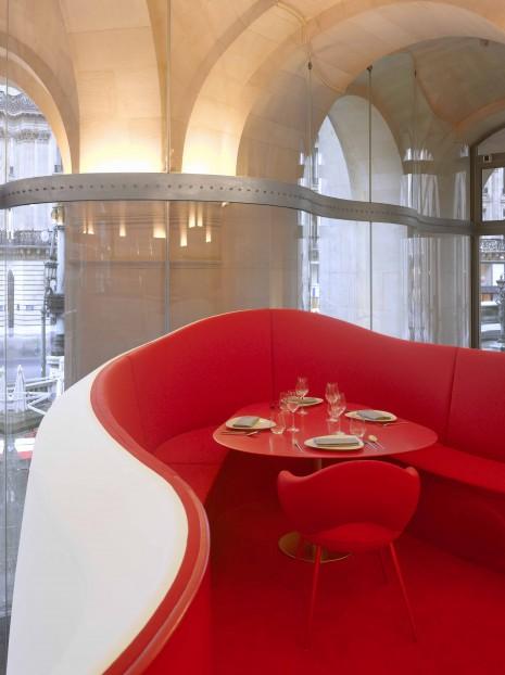 "ODILE DECQ. ""Phantom Opera Restaurant."" (2013). Interior Photograph. Courtesy the Architect. Photo: Roland Halbe."