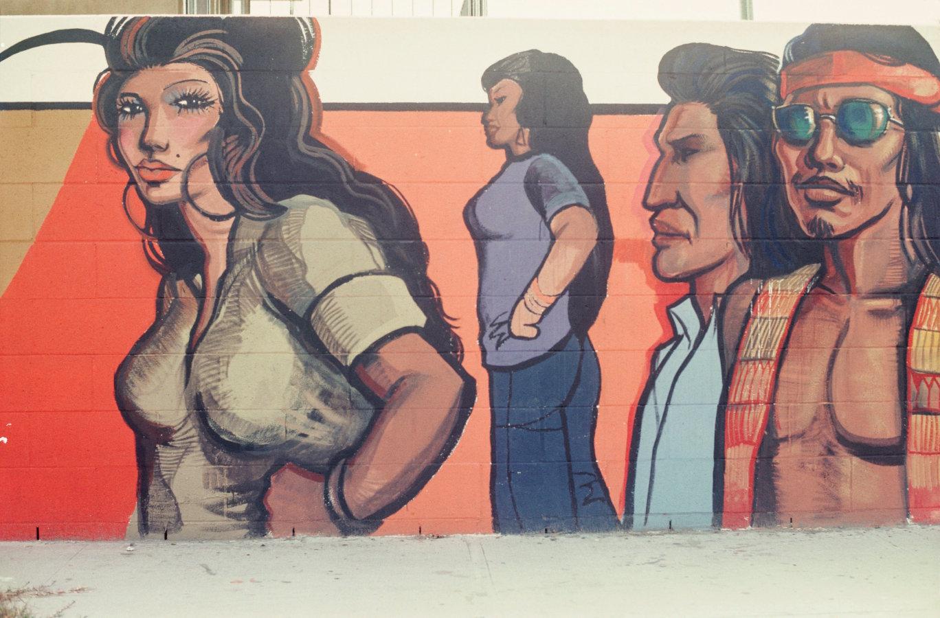 Art by Sergio O'Cadiz Moctezuma. Destroyed in 2001.