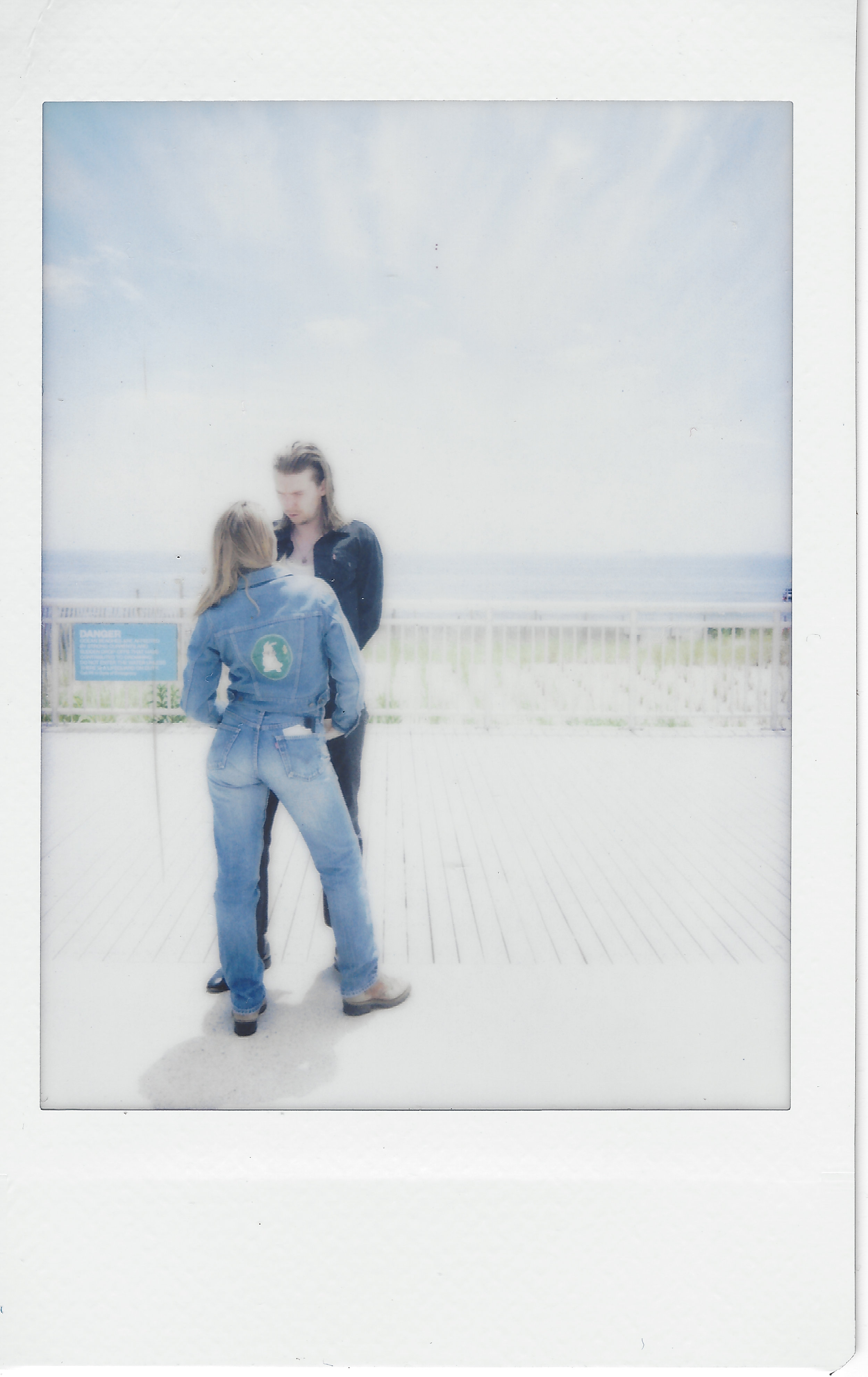 We started shooting in Far Rockaway. Double double denim. Jemima was cooking from the word go. I just tried to simmer next to her.