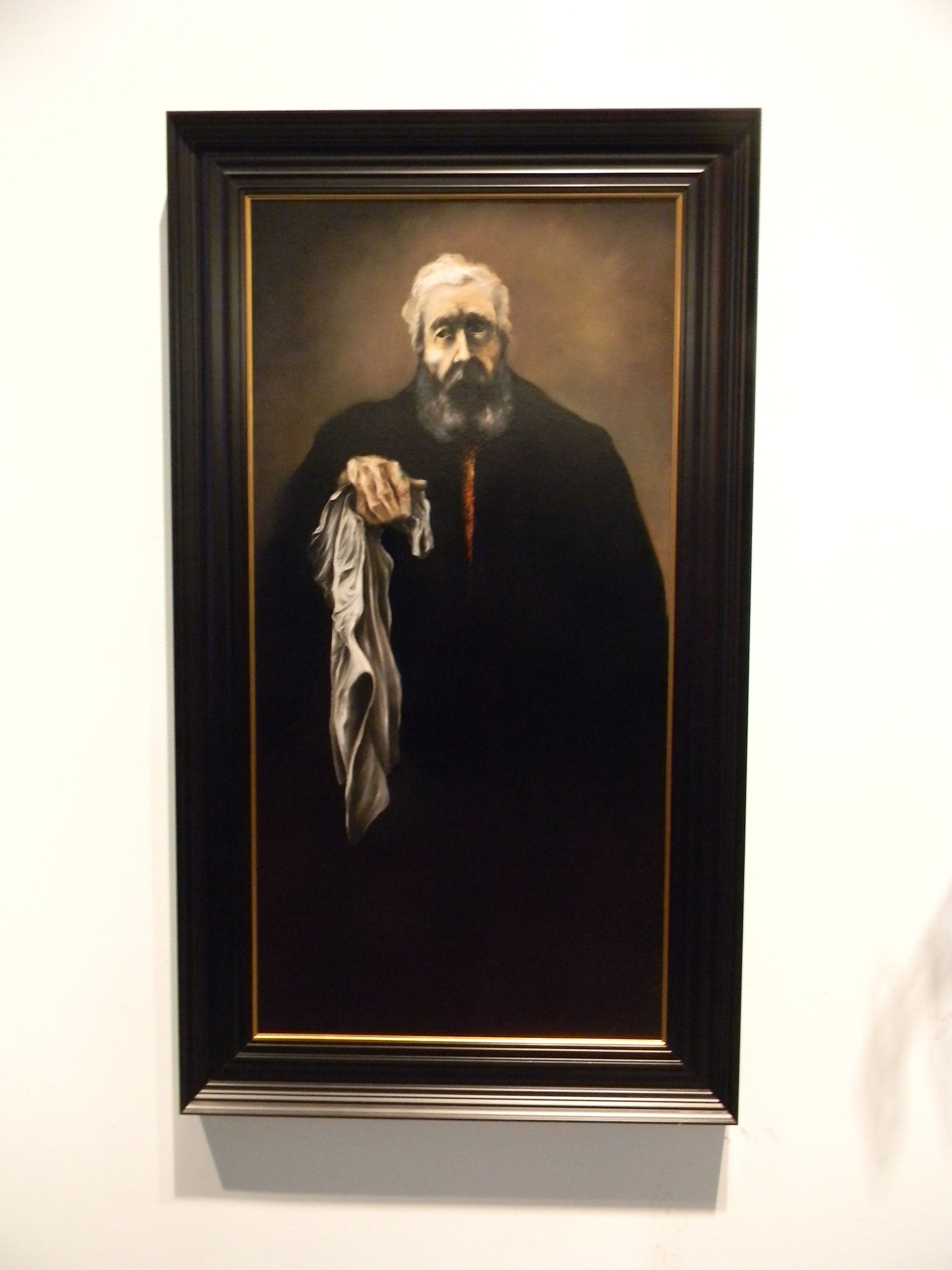 Pietro, 2016, Oil on Canvas, 48 x 24 inches