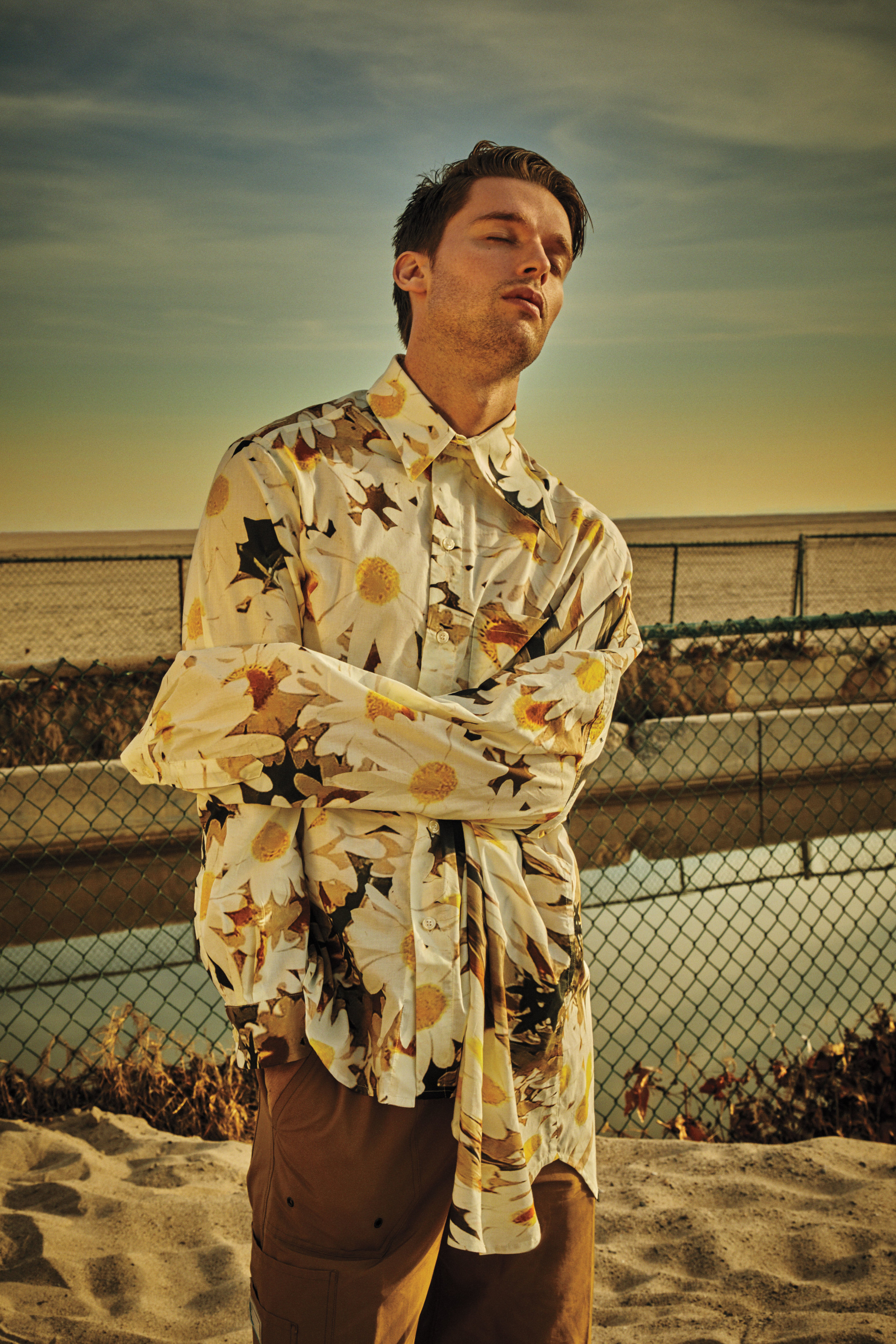 ALEX MULLINS shirt and LANVIN pants
