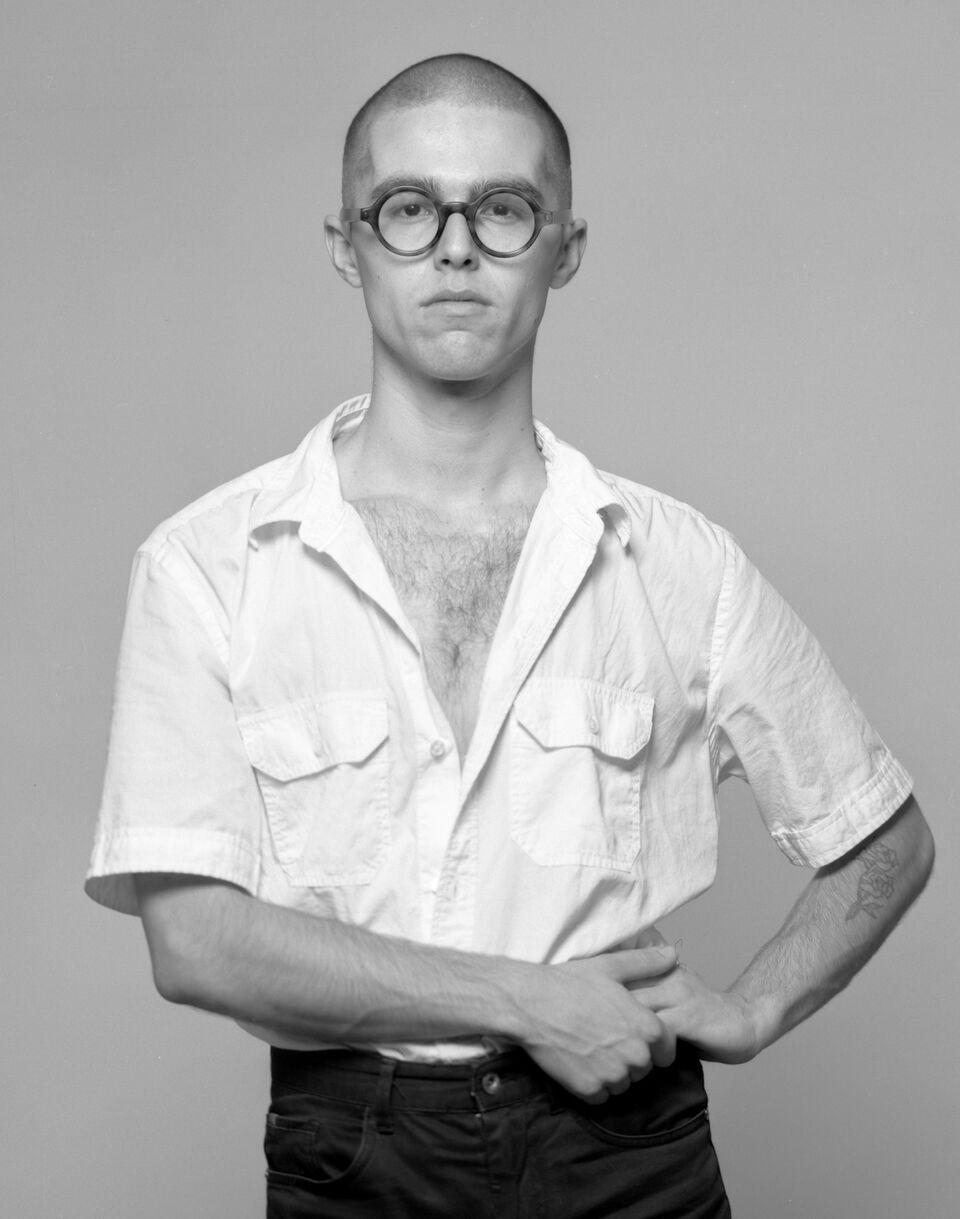 Self- Portrait by Harrison Glazier, styled by Harrison Glazier