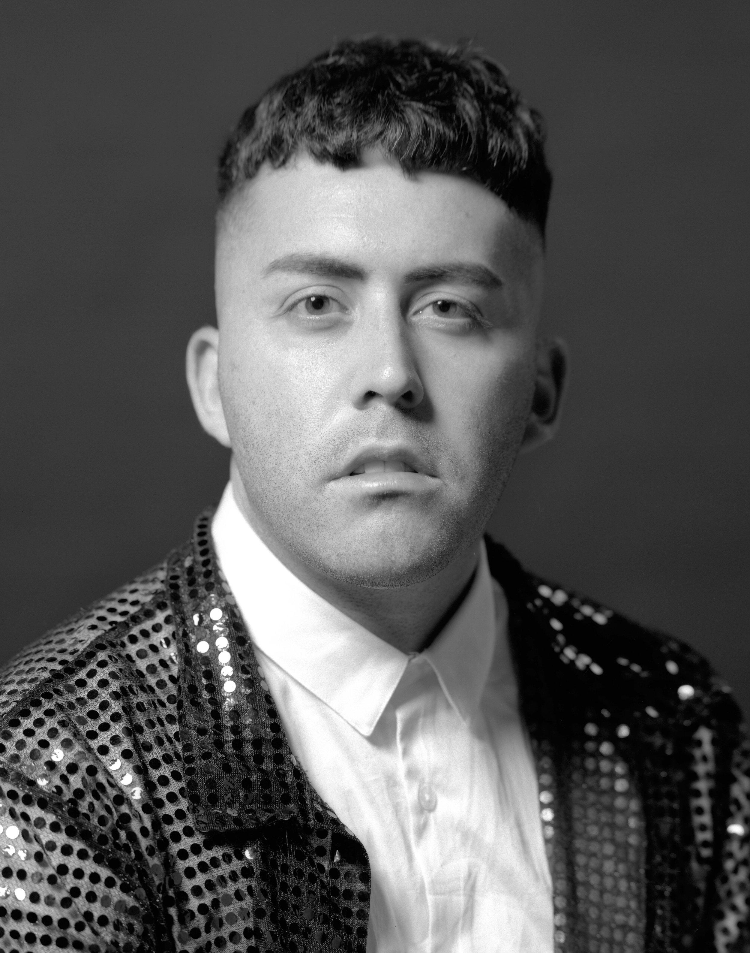 Portrait by Harrison Glazier, styled by Leland
