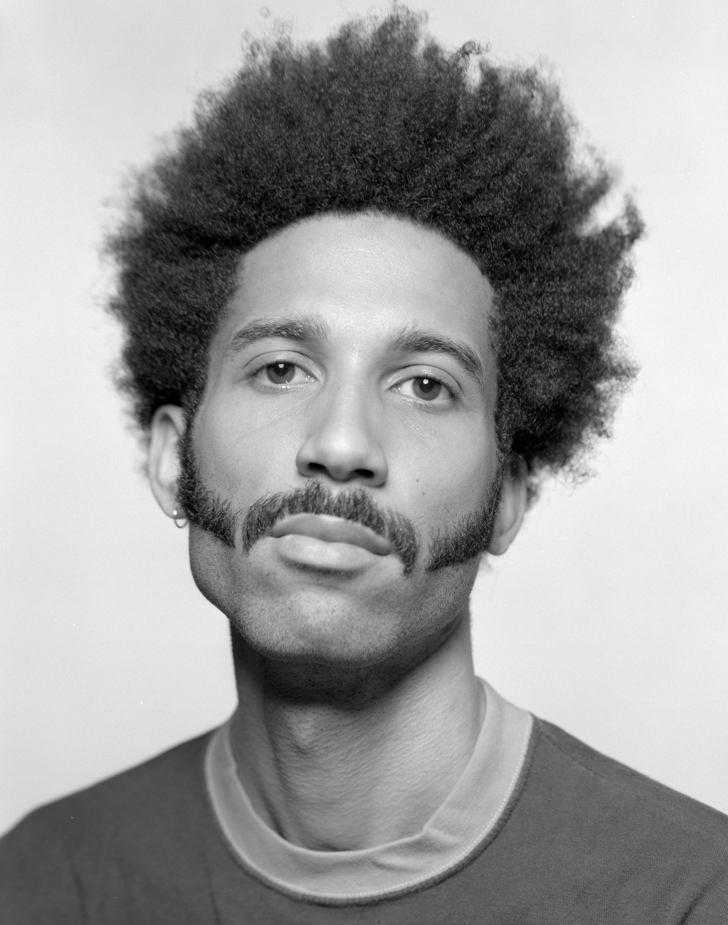 Portrait by Harrison Glazier, styled by James Flemons