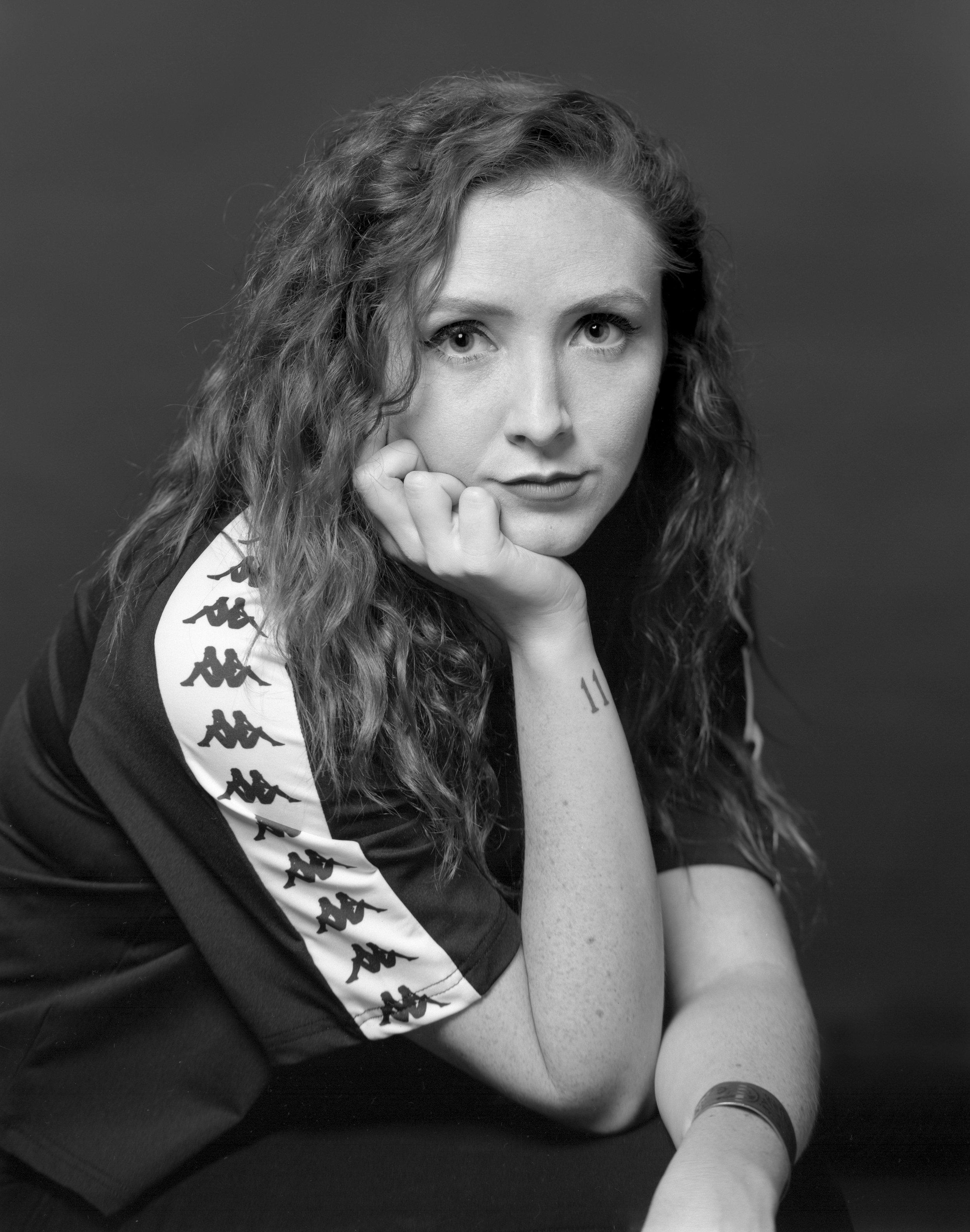 Portrait by Harrison Glazier, styled by DEVMO