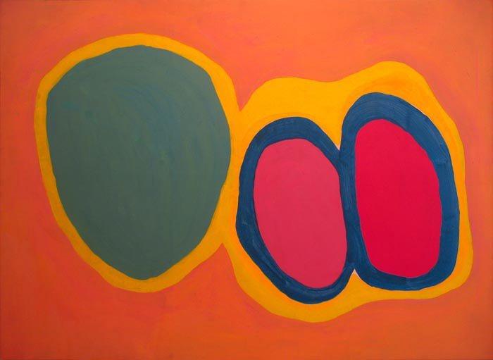 Jules Olitski, Basium Blush (1960), Image courtesy of © The Estate of Jules Olitski / Licensed by VAGA, New York. Image courtesy of Paul Kasmin Gallery. Photo: Diego Flores