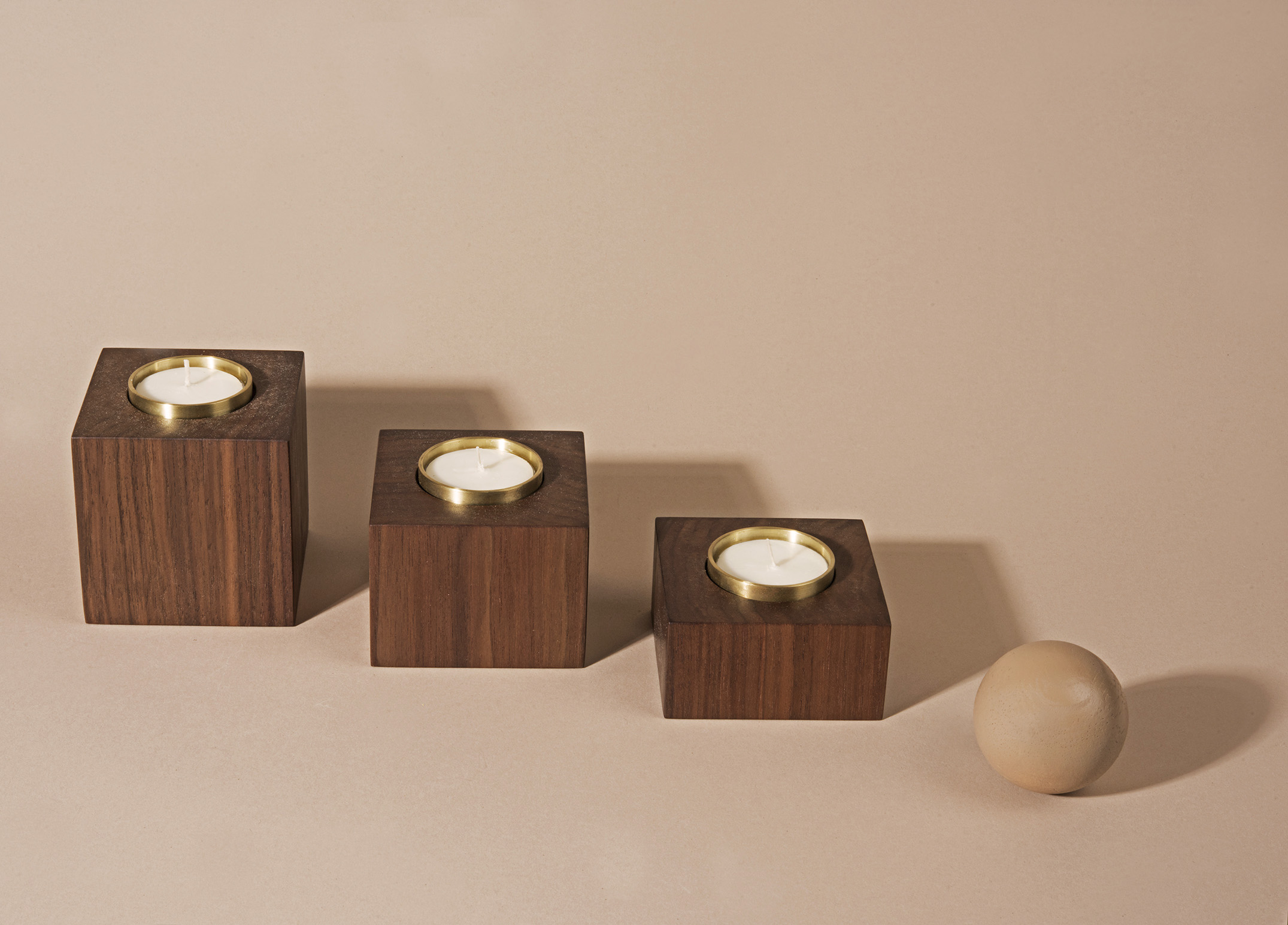 MARMOL RADZINER  tealight candle set.