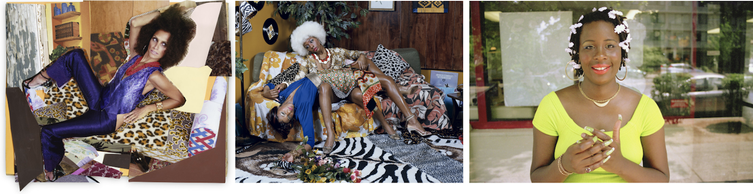 DAYTON ART INSTITUTE     Muse: Mickalene Thomas Photographs   and companion exhibition   tête-à-tête    October 20, 2018 - January 13, 2019  A solo presentation of  Mickalene Thomas 's iconic photographs, alongside an exhibition she has curated of artists that have inspired her. Artists in tête-à-tête include  Renée Cox, LaToya Ruby Frazier, Deana Lawson , and  Carrie May Weems , among others. Organized by Aperture Foundation.