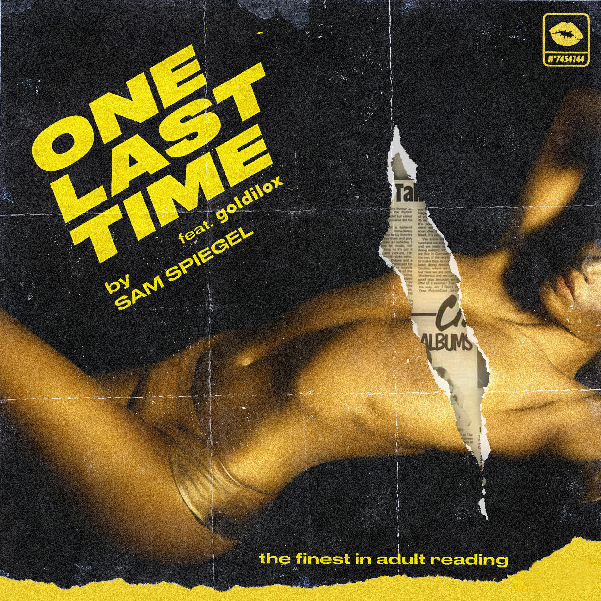 """Cover Art for """"One Last Time"""""""